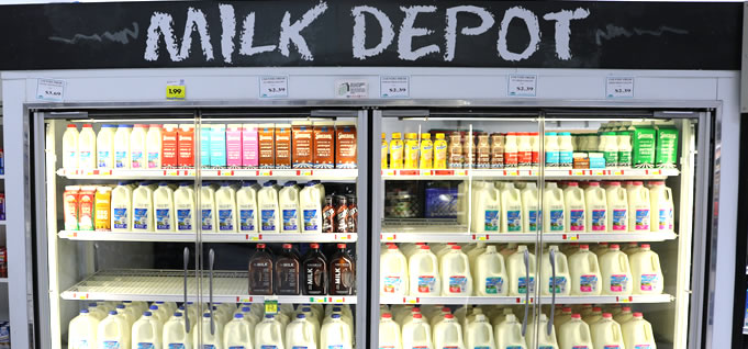 Hollywood Markets Madison heights Grocery Store - Milk Depot