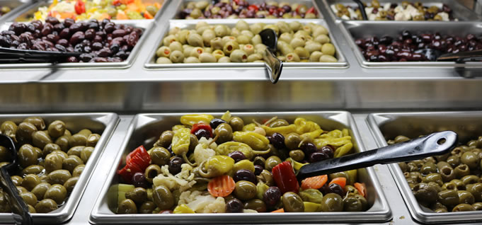 Hollywood Markets Madison heights Grocery Store - Olive Bar