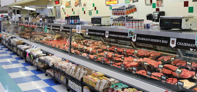 Hollywood Markets Troy Grocery Store - Meat Counter